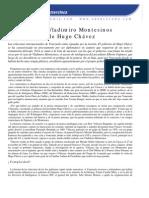 Los Nexos de Vladimiro Montesinos y el gobierno de Hugo Chávez