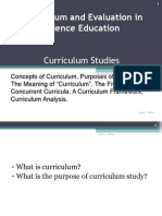 meaning curriculum analysis
