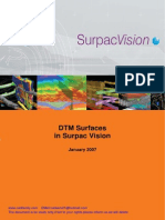 Surpac Dtm_surfaces Tutorial