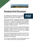 Karehana Park Playground January 2015