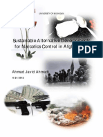 Sustainable Alternative Development _Narcotics Control in Afghanistan