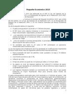 Docto Paquete Económico 2015