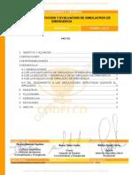 Planificación, Ejecucion y Evaluacion de Simulacros de Emergencia