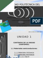 Materiales Semi-Conductores. Exposición.