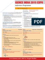 Conference India Agenda 2015