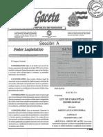 Ley de Garantías Reales Mobiliarias