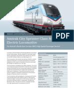 Amtrak City Sprinter Class ACS64