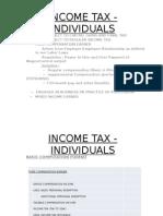 Tax 1 - Individuals