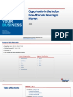 Oppurtunity in the Indian Non Alcoholic Beverages Market_Feedback OTS_2015