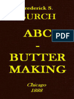 ABC - Butter Making by Fredrick S. Burch