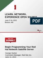 Hacker Summit 2013 Tot Rhns API