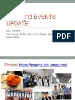 fall 2013 elc events presentation