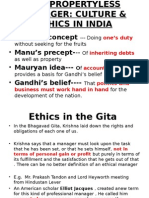 ETHICS Lecture 3 Gandhian Philosphy