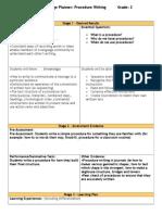 procedure ubd unit 4