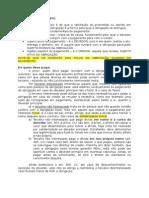 Direito Civil II - Teoria Do Pagamento e Adimplemento Especial Das Obrigações