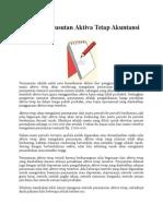 Metode Penyusutan Aktiva Tetap Akuntansi