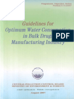 Guidelines for Optimum Water Consumption in Bulk Drugs Manufacturing Industry.pdf