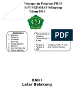Laporan Pencapaian Program PHBS di Wilayah PUSKESMAS Sekupang.pptx