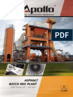 Asphalt Batch Type Portable Plant