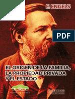 El Origen de La Familia, La Pro - Friedrich Engels
