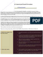 Internal Control and Fraud Prevention