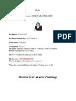 Marina Kavtaradze Arts