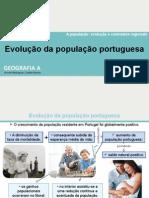 Evoluçao Populaçao Portuguesa