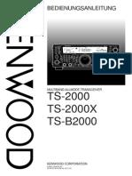 TS 2000 German