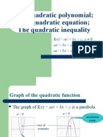 The Quadratic Polynomial