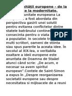 3.Ideia Unităţii Europene – de La Antichitate La Modernitate.