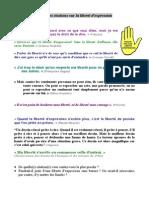 Citations Liberte Expression