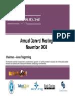 041.ASX IAW Nov 28 2008 08.25 AGM Summary