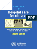 Pocket Book hospital care for children