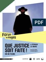 Que Justice Soit Faite ! Forum des images