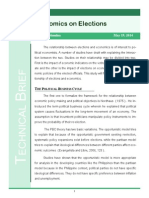 Technical Brief-Economics on Elections