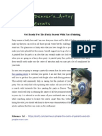 Artsyevents - Face Painting.pdf