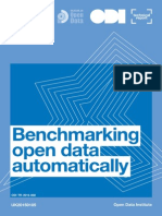 Benchmarking open data automatically