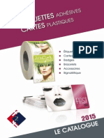 Catalogue Cartes Etiquettes 2015