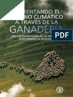 Enfrentando el cambio climatico a traves de la ganaderia