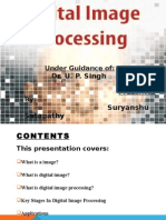 Digital Image Processing Seminar PPT