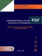 Administratia publica si buna guvernare