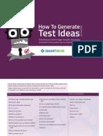 SmartBear Generating Test Ideas Checklist