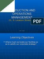 9 Location Strategies