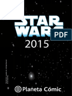 Star Wars comics Marvel Planeta 2015