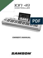 Manual do usuário  - Controlador Carbon 49