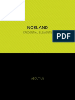 Noeland Credential