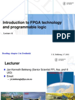 Lecture1- Introduction to Programmable Logic