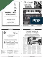 Diario El mexiquense 19 enero 2015