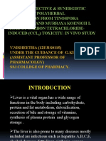 Hepatoprotective & synergistic efficacy of polyherbal formulation from.pptx