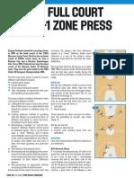 2-2-1- Basketball zone-press